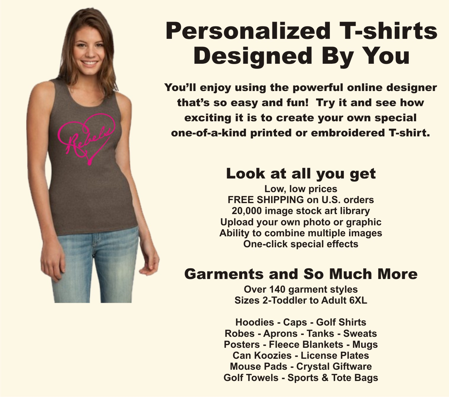 fe008e358c Design, personalize, create, and customize your own T-shirt or tee shirt
